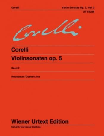 Sonatas: 2: Op 5: Violin and Piano (Wiener Urtext)
