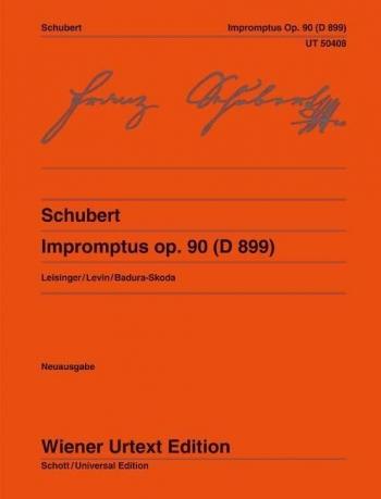 Impromptus Op.90 (D899) Piano (Wiener Urtext)