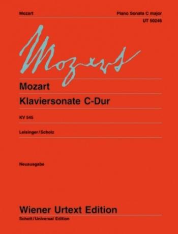 Sonata: C: Kv545: Piano (Wiener Urtext)