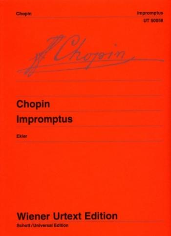 Impromptus: Piano (Weiner Urtext)