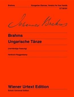 Hungarian Dance: Version For 4 Hands (Wiener Urtext)