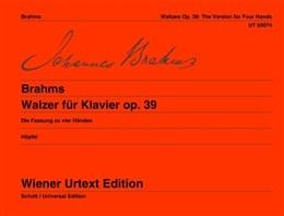 Waltzes Op39: 4 Hands (Wiener Urtext)