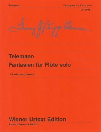 Fantasias Flute Solos (Wiener Urtext)
