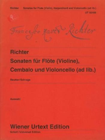 Sonatas Flute & Piano (Wiener Urtext)