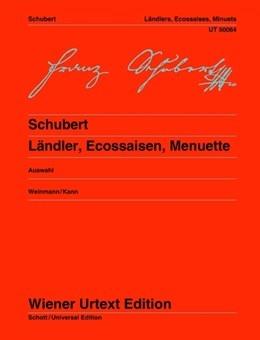 Landlers, Ecossaises, Minuets: Piano  (Weiner Urtext)