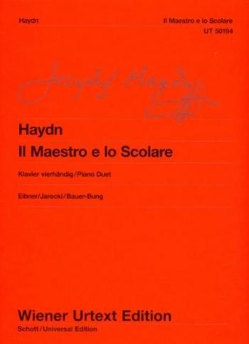 Il Maestro E Lo Scolare: Two piano (Wiener Urtext)