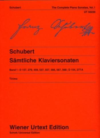 The Complete Piano Sonatas Vol.1  (Wiener Urtext)