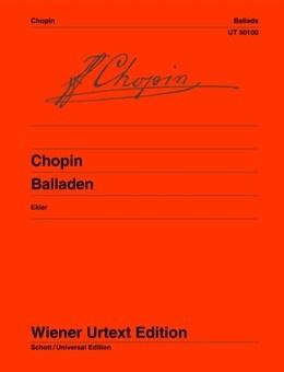 Ballads: Piano  Ed Jan Ekier (Wiener Urtext)