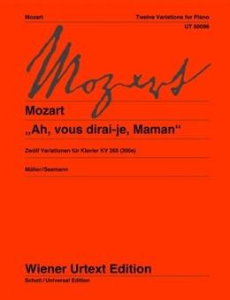 Twelve Variations:Ah, Vous Dirai-je, Maman For Piano KV 300e (Kv 265) Piano (Wiener Urtext