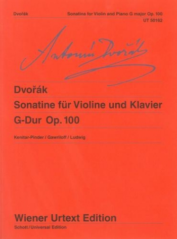 Sonatine: G: Violin And Piano (Wiener Urtext)t)