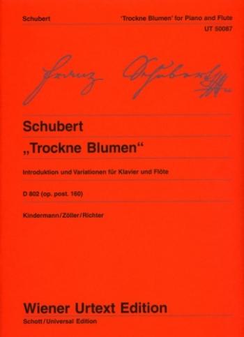 Trockne Blumen: Flute & Guitar (Wiener Urtext)