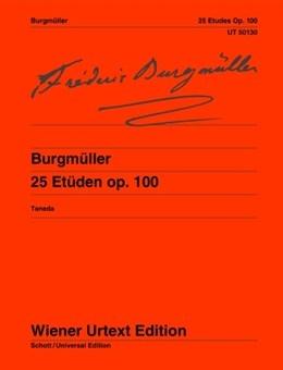 25 Etudes Op 100: Piano Solo (Wiener Urtext)