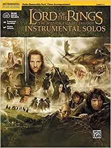 Lord Of The Rings: Trilogy:  Instrumental Solos:  Violin: Book & CD