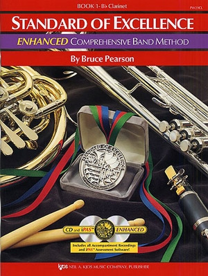 Standard Of Excellence: Enhanced Band Method: Book 1: Clarinet: Book & Cd