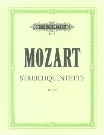 Mozart: String Quintets: 2vlns 2vlas cello