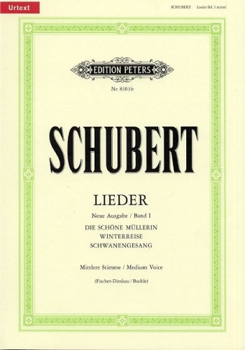 Lieder: Vol1: Medium Voice (Peters)