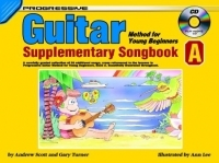 Progressive Guitar Method for the Young Beginner Book 1: Supplement A Book & CD (Turner)