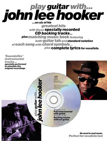 Play Guitar With John Lee Hooker: Book & Cd