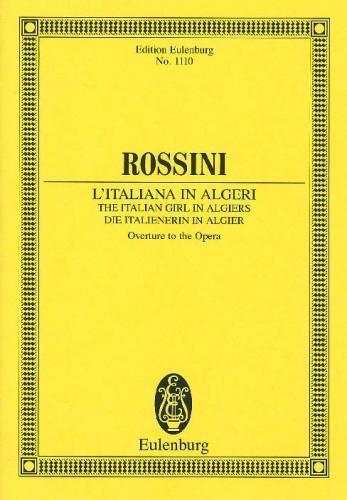 Italian Girl In Algiers Overture: Miniature Score