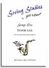 Swing Studies: Stage 1: Tenor Saxophone: Solos and Duets