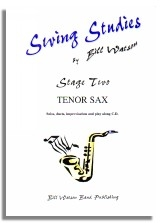 Swing Studies: Stage 2: Tenor Saxophone: Solos and Duets