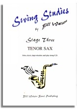 Swing Studies: Stage 3: Tenor Saxophone: Solos and Duets