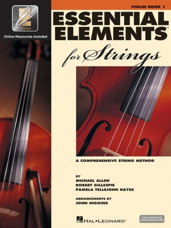 Essential Elements 2000: Book 1: Violin: Tutor Book and CD Rom