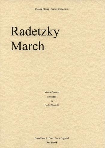 Radetsky March: String Quartet: Parts