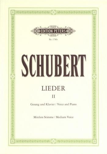 Lieder (Songs) Vol.2 Medium Voice & Piano (Peters)