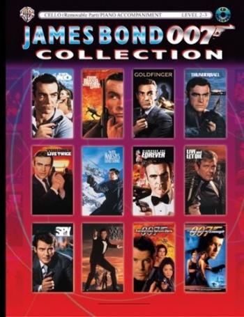 James Bond 007 Collection: Cello: Book & CD