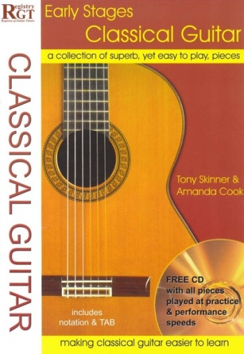 Registry Of Guitar Tutors: Early Stages Classical Guitar: Tab