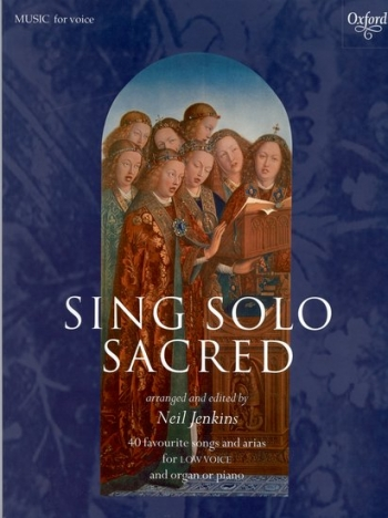 Sing Solo Sacred: Low Voice (Jenkins) (Oxford)