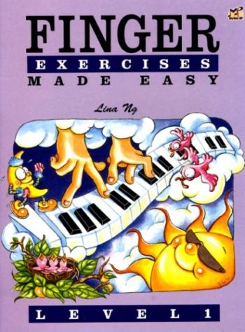 Finger Exercises Made Easy - Grade Piano: Lina NG