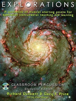 Explorations: percussion classroom