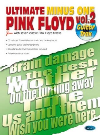 Ultimate Minus One: Pink Floyd:  Vol 2: Guitar Tab: Book And Cd
