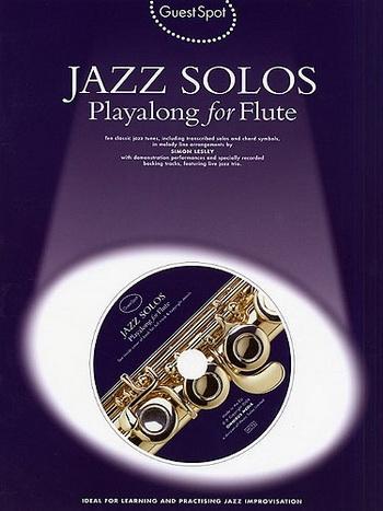 Guest Spot: Jazz Solos: Flute: Book & CD