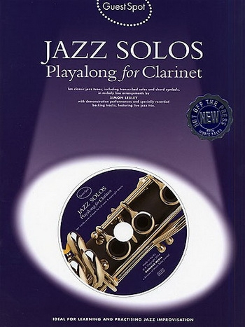 Guest Spot: Jazz Solos: Clarinet: Book & CD