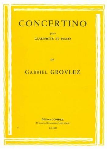 Concertino: Clarinet & Piano (Combre)