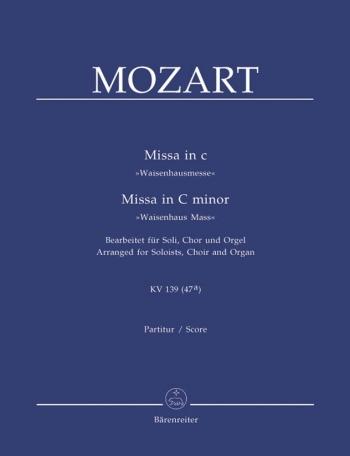 Waisenhausmass In C: Kv139: Vocal Score (Barenreiter)