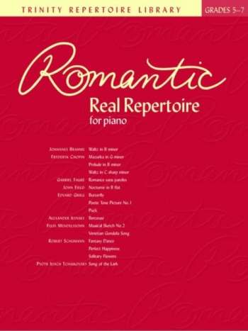 Trinity Repertorie Library: Romantic Real Repertoire: Grades 5-7: Piano