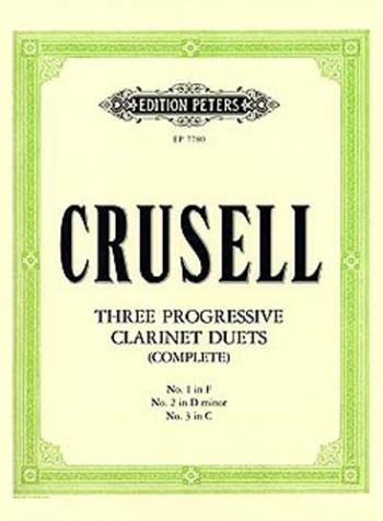 Progressive Clarinet Duets 1 to 3 (Peters)