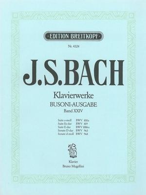 Complete Piano Works Vol.24 Piano Arr Busoni  (Breitkopf)