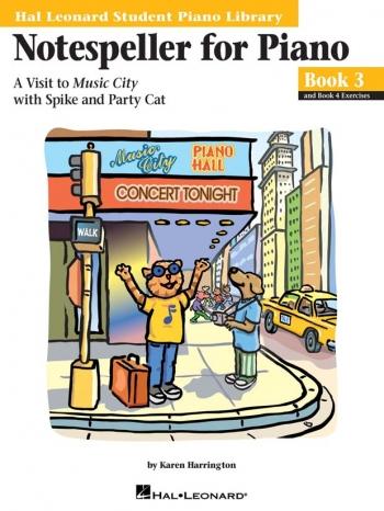 Hal Leonard Student Piano Library: Book 3: Notespeller