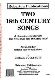 Two 18th Century Songs: Unison