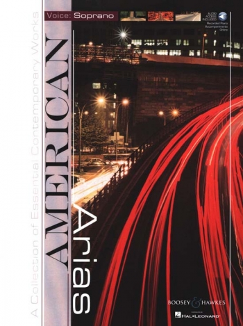 American Arias: Various: Soprano: Bk&cd