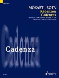 Cadenzas To Mozarts Flute Concerto In C: KV299: Flute & Harp (Schott)