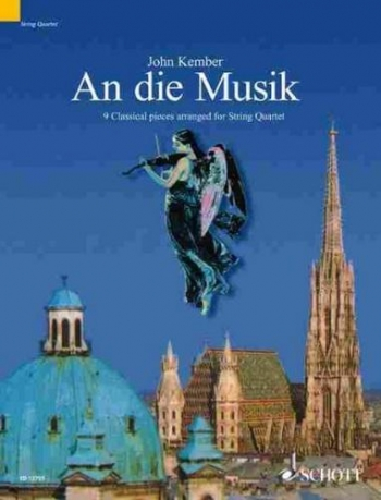 An Die Musik: 9 Pieces: String Quartet: Score And Parts