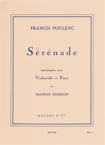 Serenade: Cello
