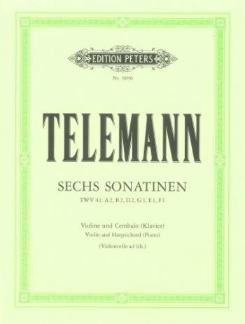 6 Sonatinas: Violin and Piano (Peters)