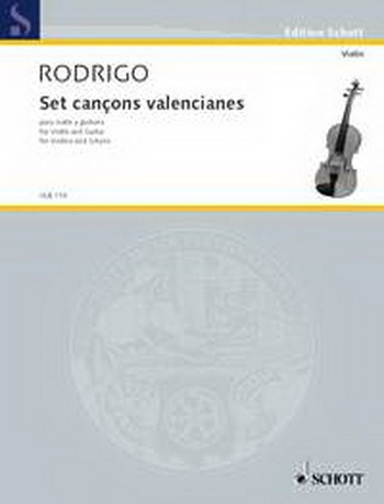 Set Canons Valencianes: Violin and Guitar